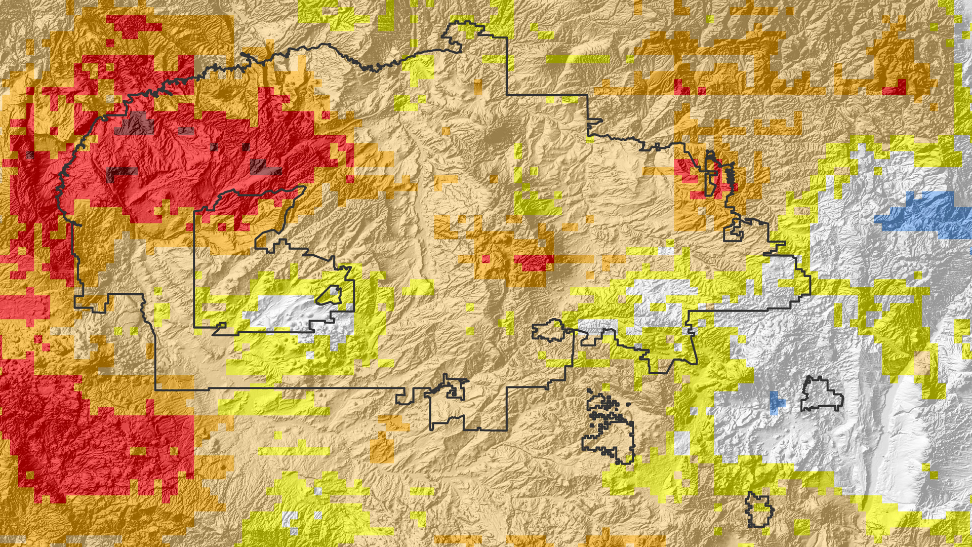 Spatial And Inter Annual Variability Of Drivers Of Drought In The Navajo Nation