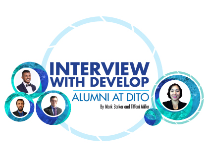 Interview with DEVELOP Alumni at DITO