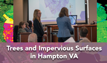 DEVELOP Virginia – Langley's Hampton Roads Urban Development Team Presents Project Results to Hampton City Council