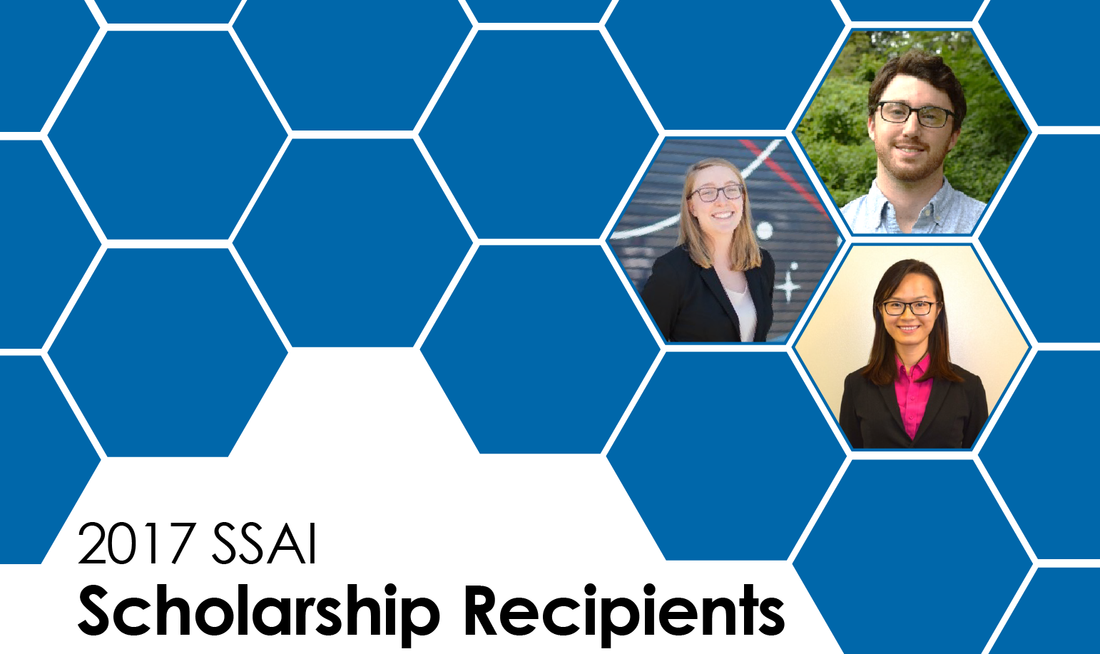 2017 Summer SSAI Scholarship Recipients